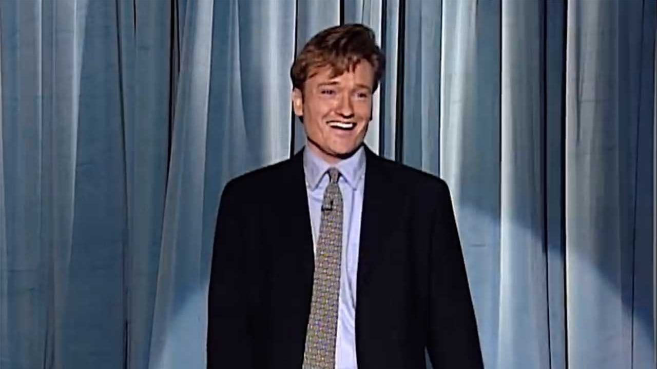 "Die allererste Folge ""Late Night With Conan O'Brien"""