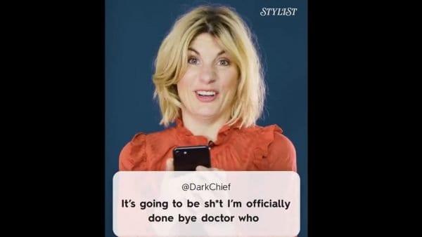 Doctor Who: Jodie Whittaker reagiert auf Tweets