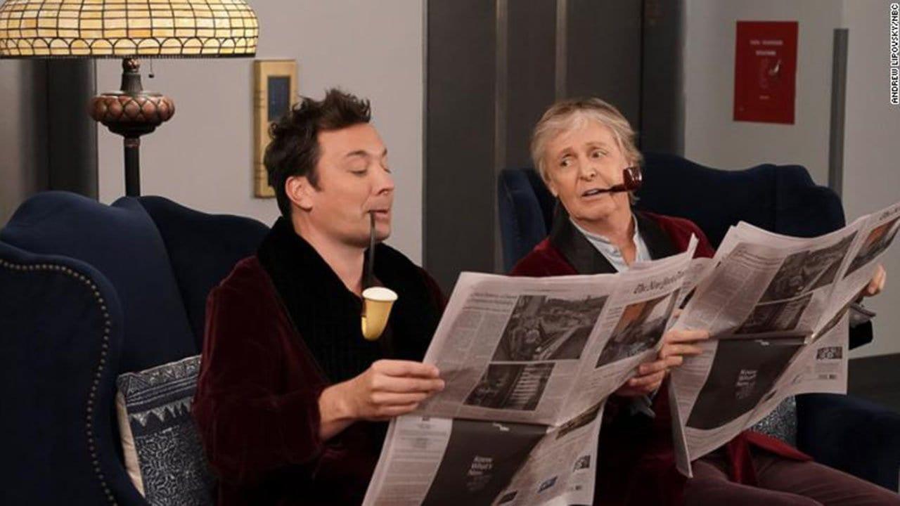 Jimmy Fallon und Paul McCartney überraschen Hotelgäste