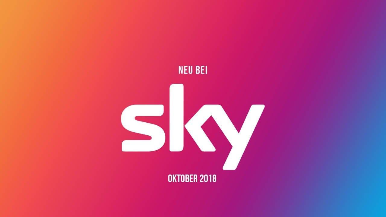 Sky: Die neuen Serien(-Staffeln) im Oktober 2018