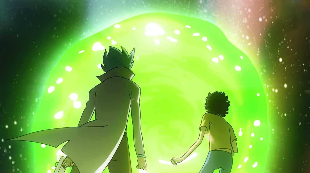 "rick-and-morty-als-anime-intro Wenn ""Rick and Morty"" ein Animé wäre"