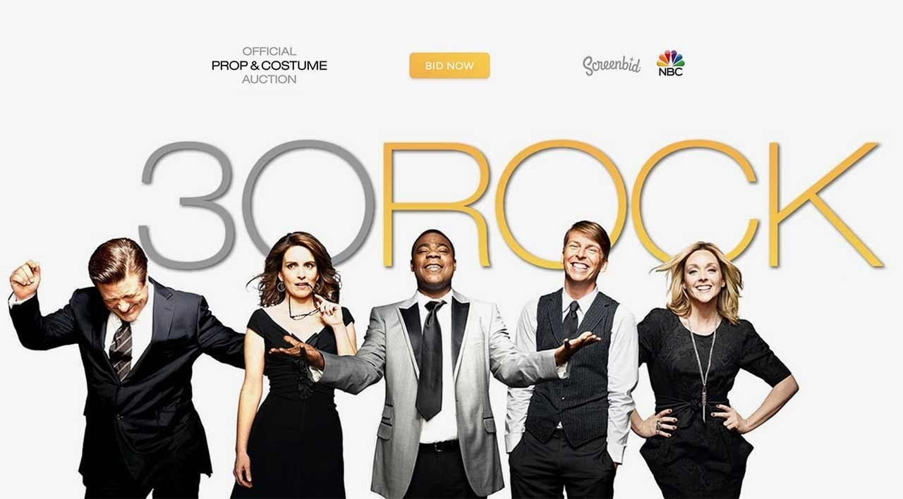 "Ersteigert originale Requisiten aus ""30 Rock"""