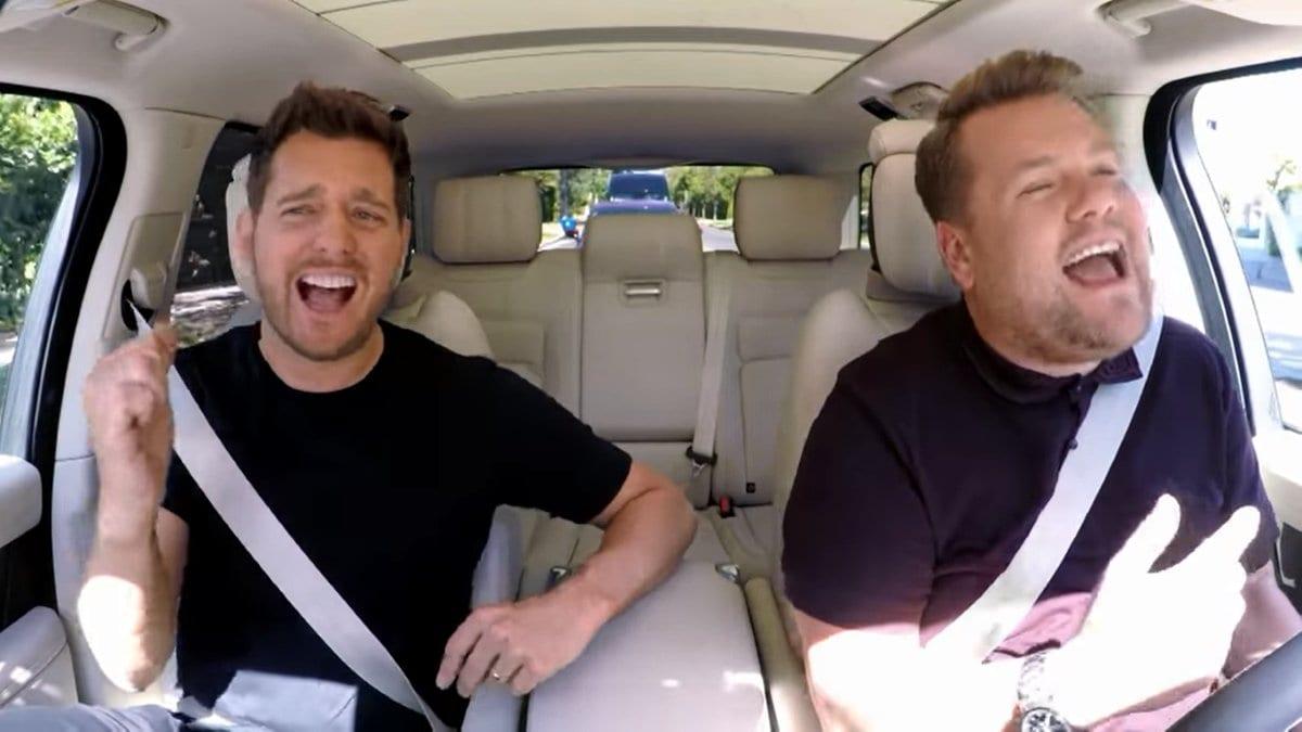 Carpool Karaoke mit Michael Bublé