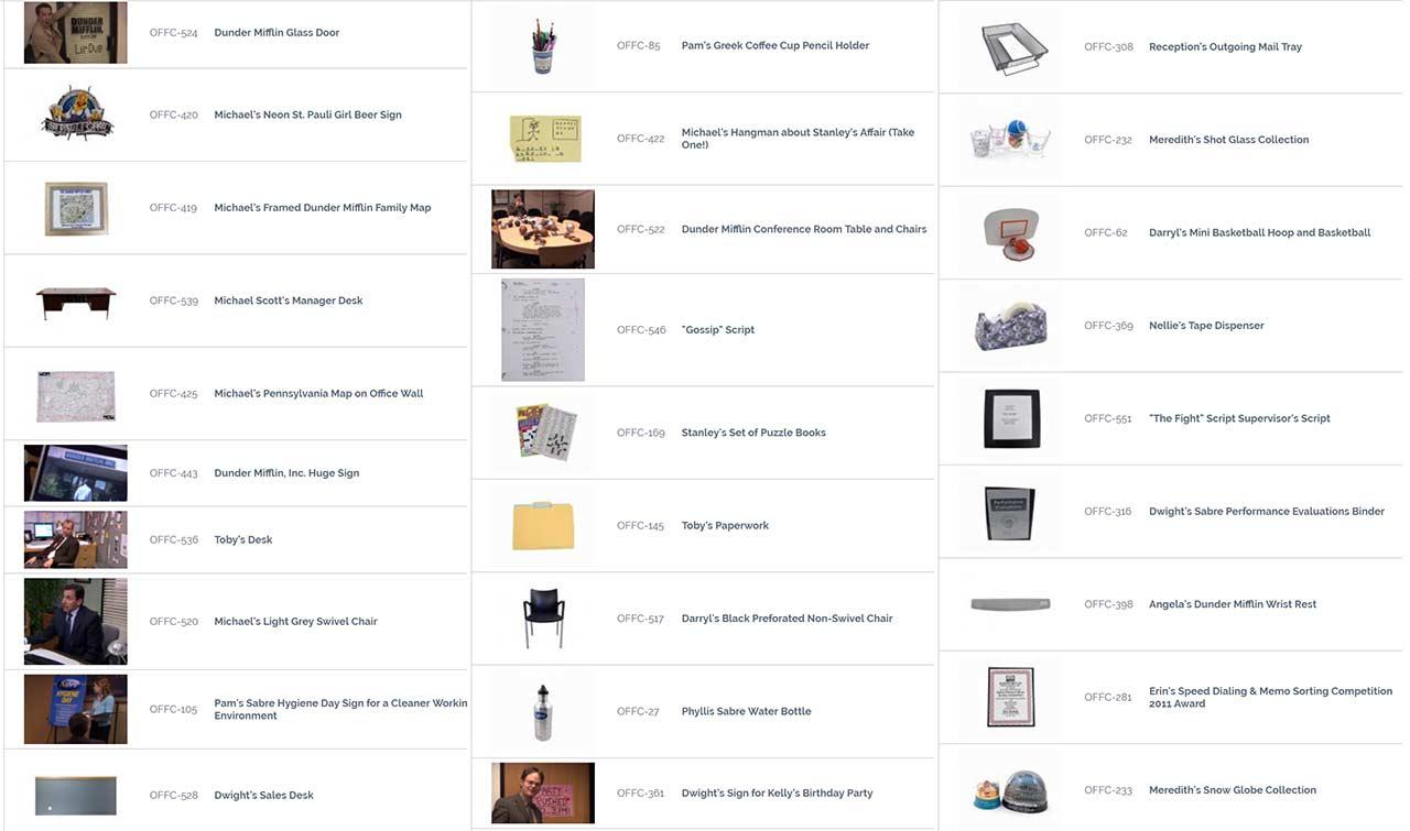 """auktion-the-office-requisiten_02 Ersteigert originale Requisiten aus """"The Office"""""""