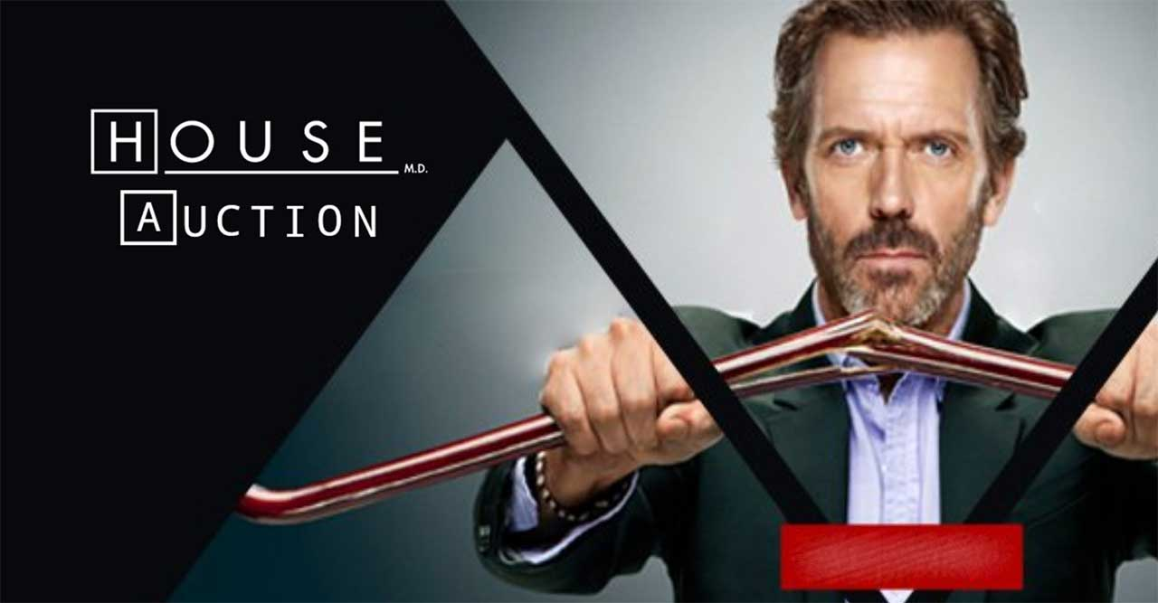 "dr-house-auktion Ersteigert originale Requisiten aus ""Dr. House"""