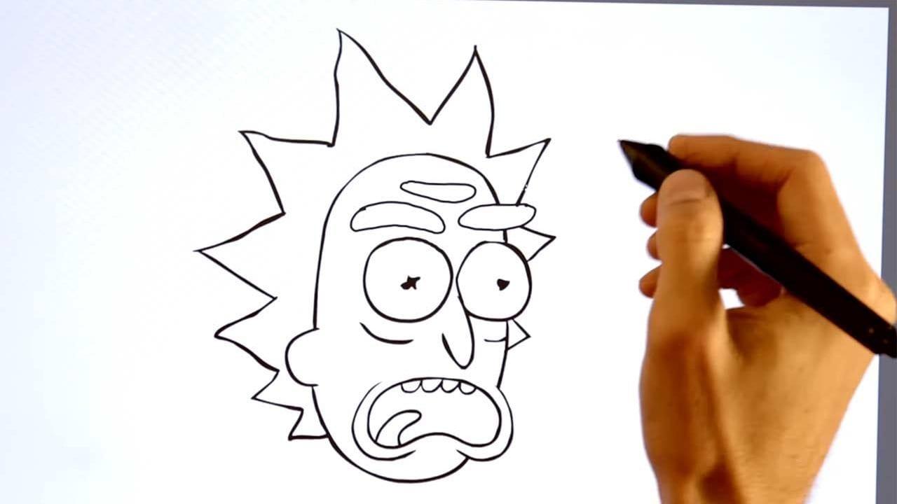 Wie man Rick and Morty zeichnet