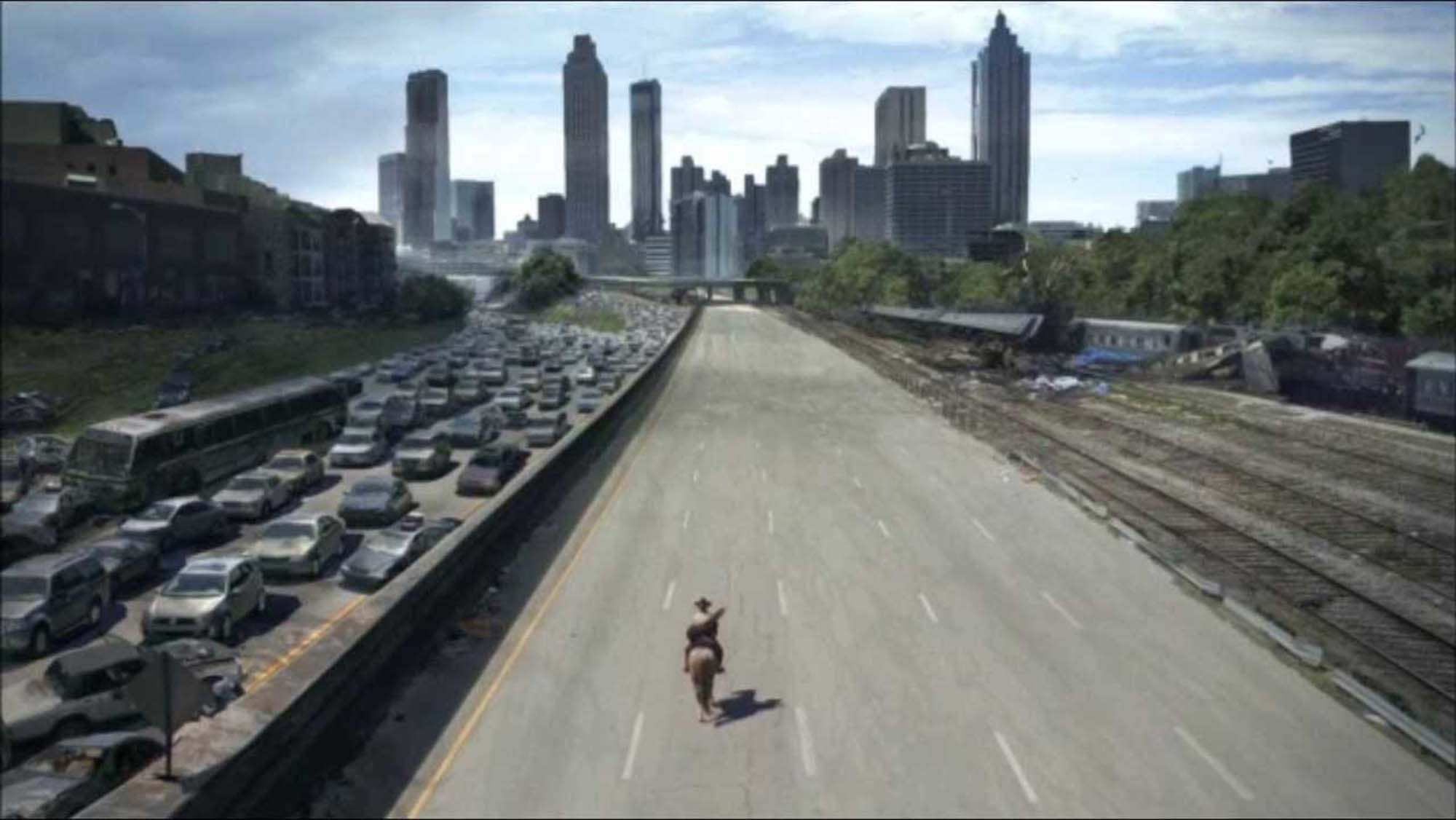 twds01e01b Review: The Walking Dead S01E01 - Days gone bye