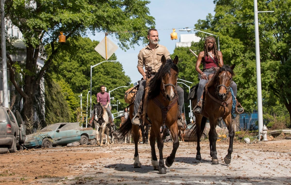 twds09e01b Review: The Walking Dead S09E01 - A new beginning