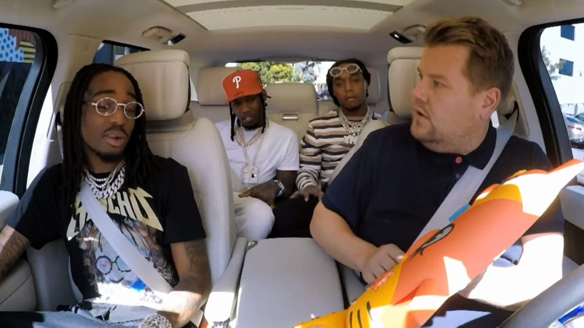 Carpool Karaoke mit Hip Hop-Trio Migos