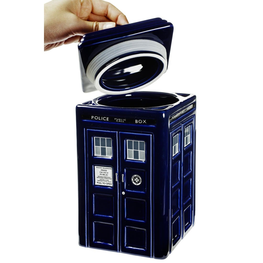 Doctor Who cookie box