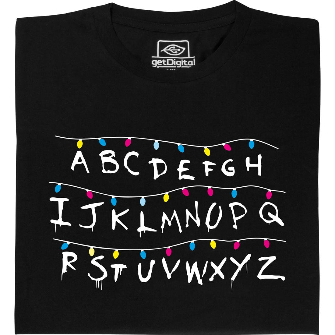 Stranger Things T-Shirt Lichterkette