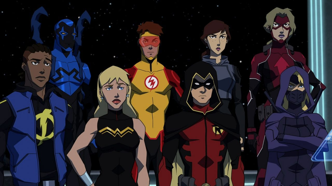 "Extended Trailer zur neuen DC Universe Zeichentrick-Serie ""Young Justice: Outsiders"""