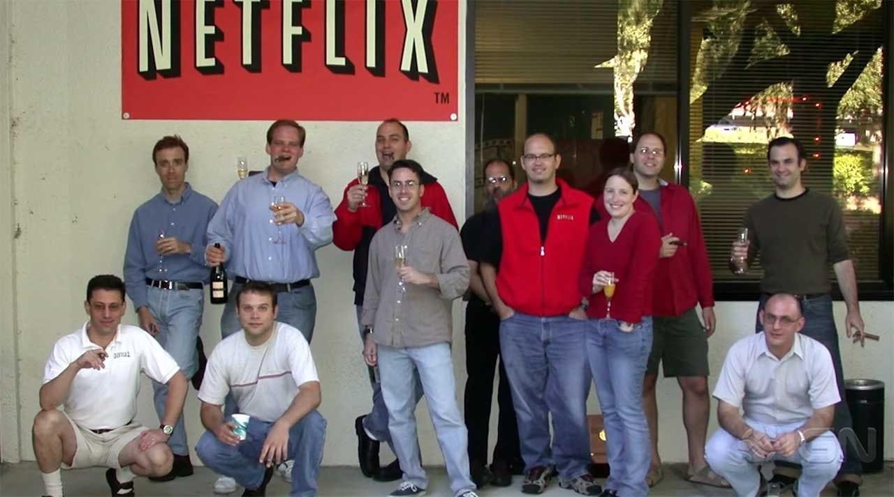 Die Entstehungsgeschichte von Netflix