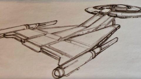 USS Discovery Designprozess