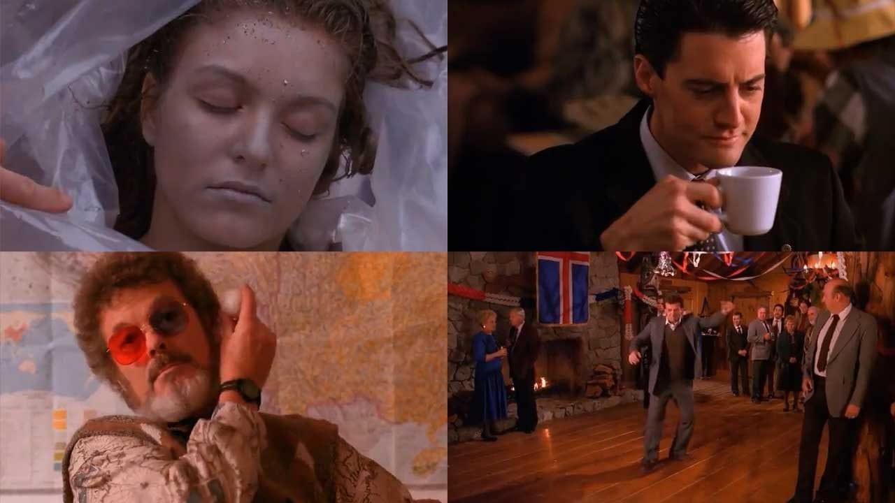 """Eine Sekunde aus jeder Folge """"Twin Peaks"""" zusammengeschnitten"""