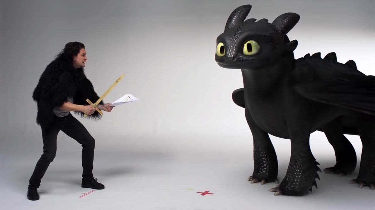 "Kit Harrington spricht für ""How to Train Your Dragon"" vor"