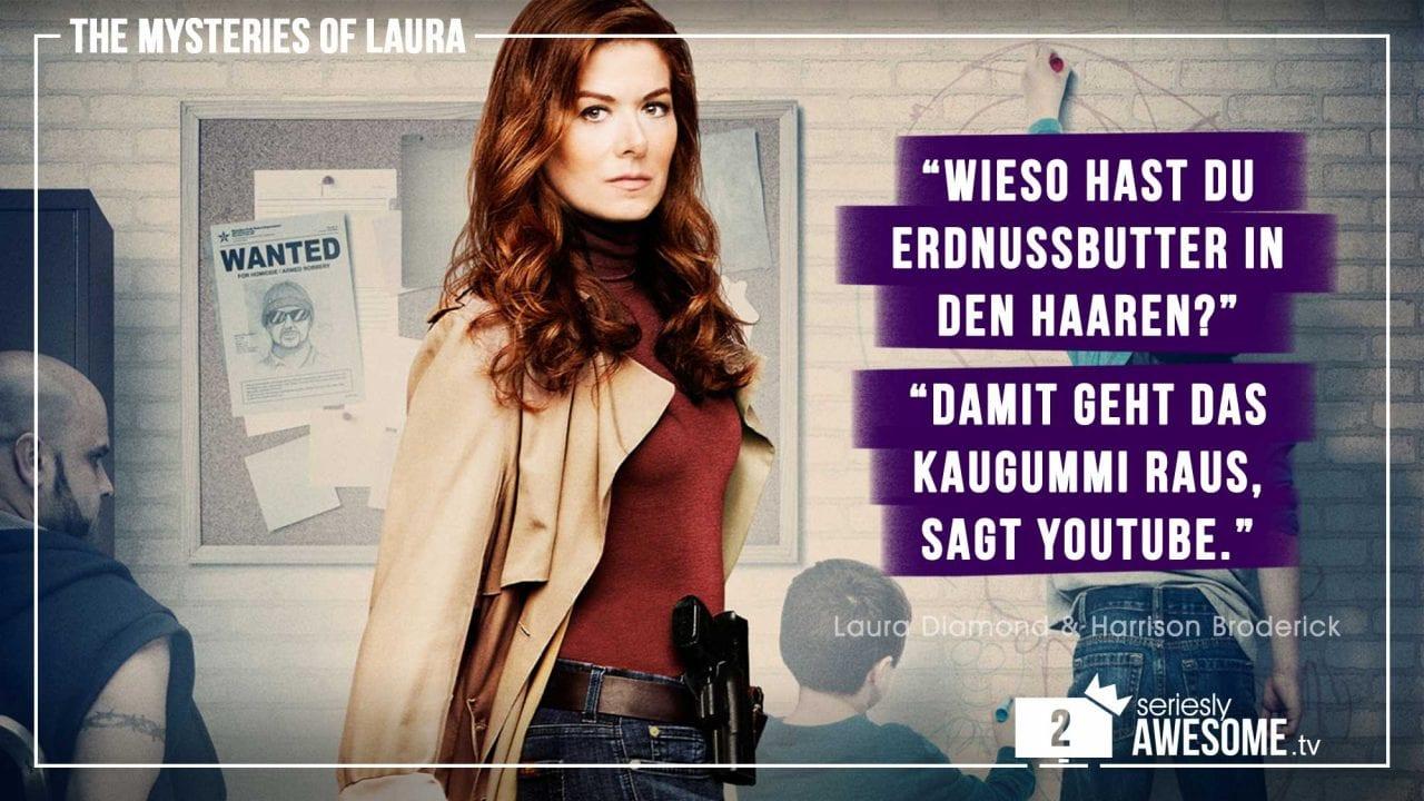 """sAWEntskalender 2018 – Tür 2: die besten Zitate aus """"Mysteries of Laura"""""""