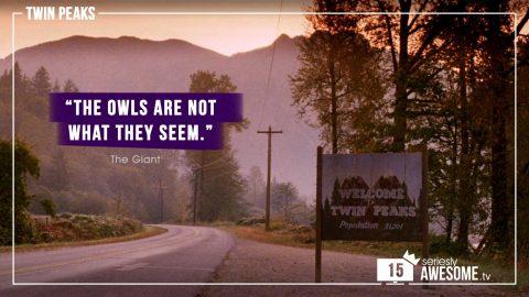 """sAWEntskalender 2018 – Tür 15: Die besten """"Twin Peaks""""-Zitate"""