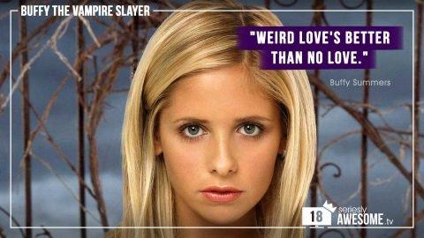 """sAWEntskalender 2018 – Tür 18: Die besten """"Buffy""""-Zitate"""
