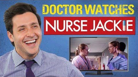 "Echter Arzt schaut ""Nurse Jackie"""