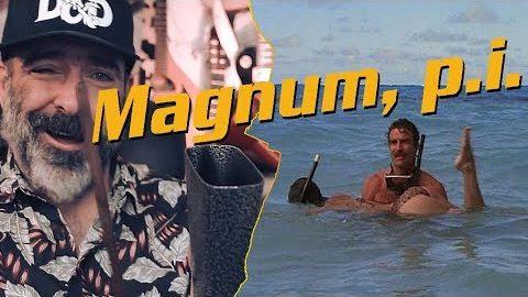 """""""Magnum""""-Titelmelodie mit dem Banjo gespielt"""