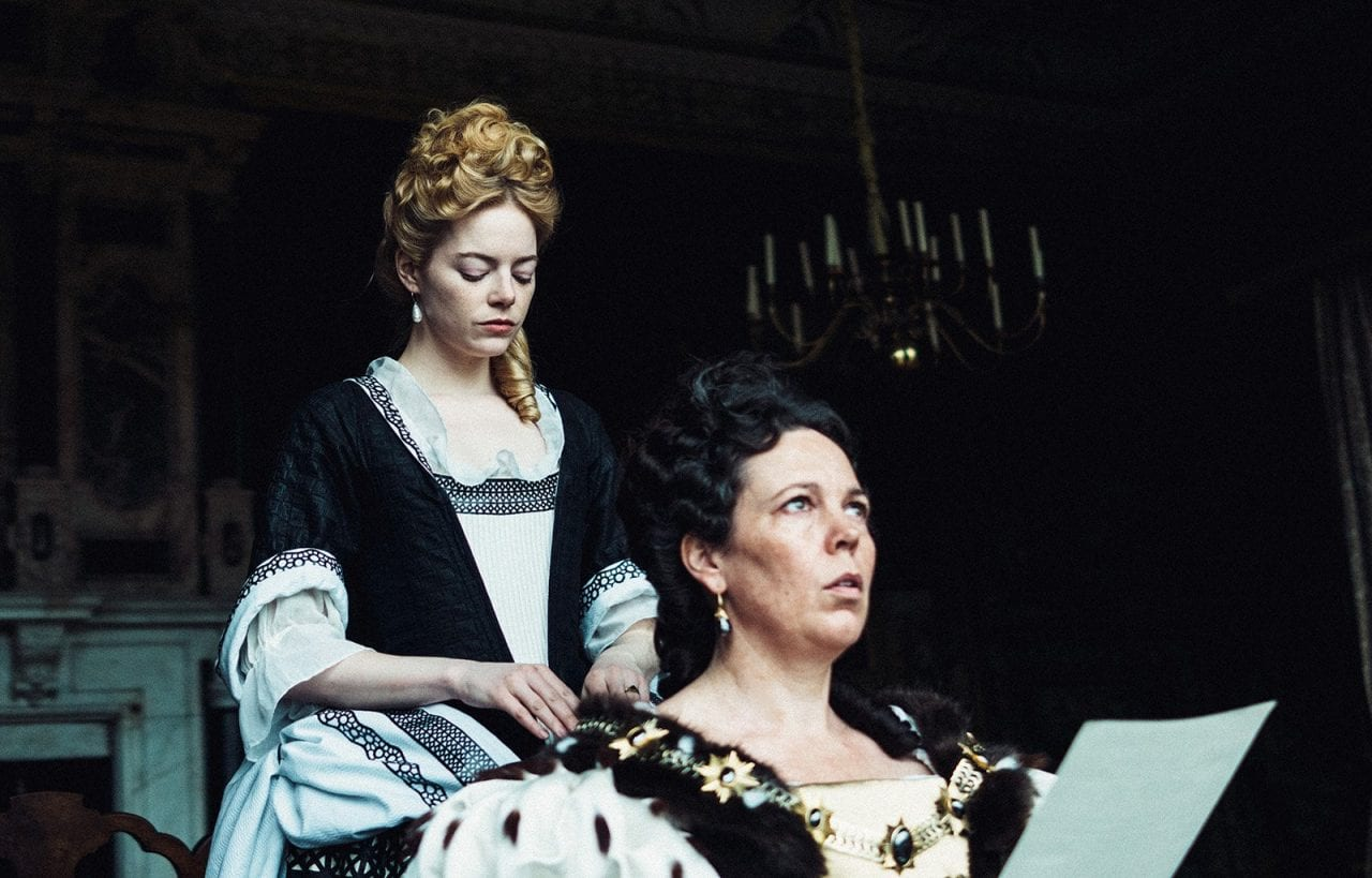 The Favourite Emma Stone Olivia Colman