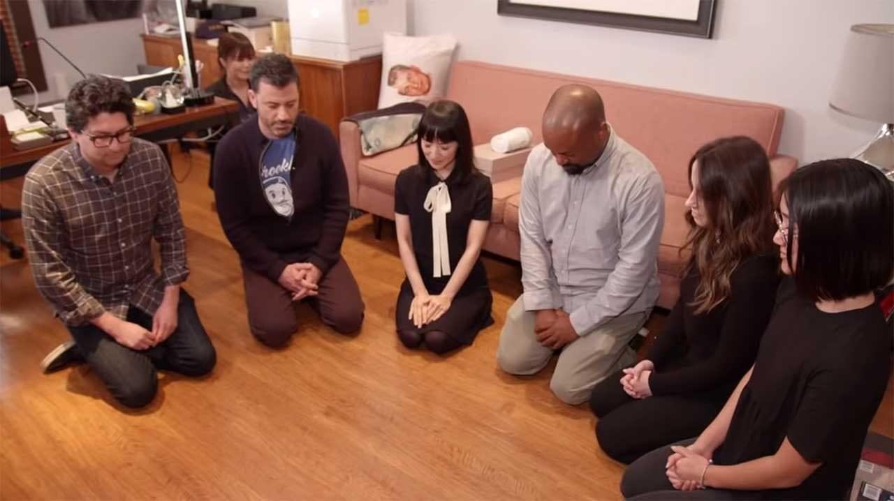 Marie Kondo räumt Jimmy Kimmels Büro auf