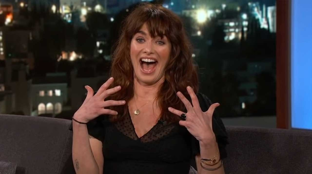 "Lena Headey hat mit Jimmy Kimmel über die finale Staffel ""Game of Thrones"" geplaudert"