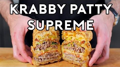 Binging with Babish: Krabby Supreme from Spongebob Squarepants