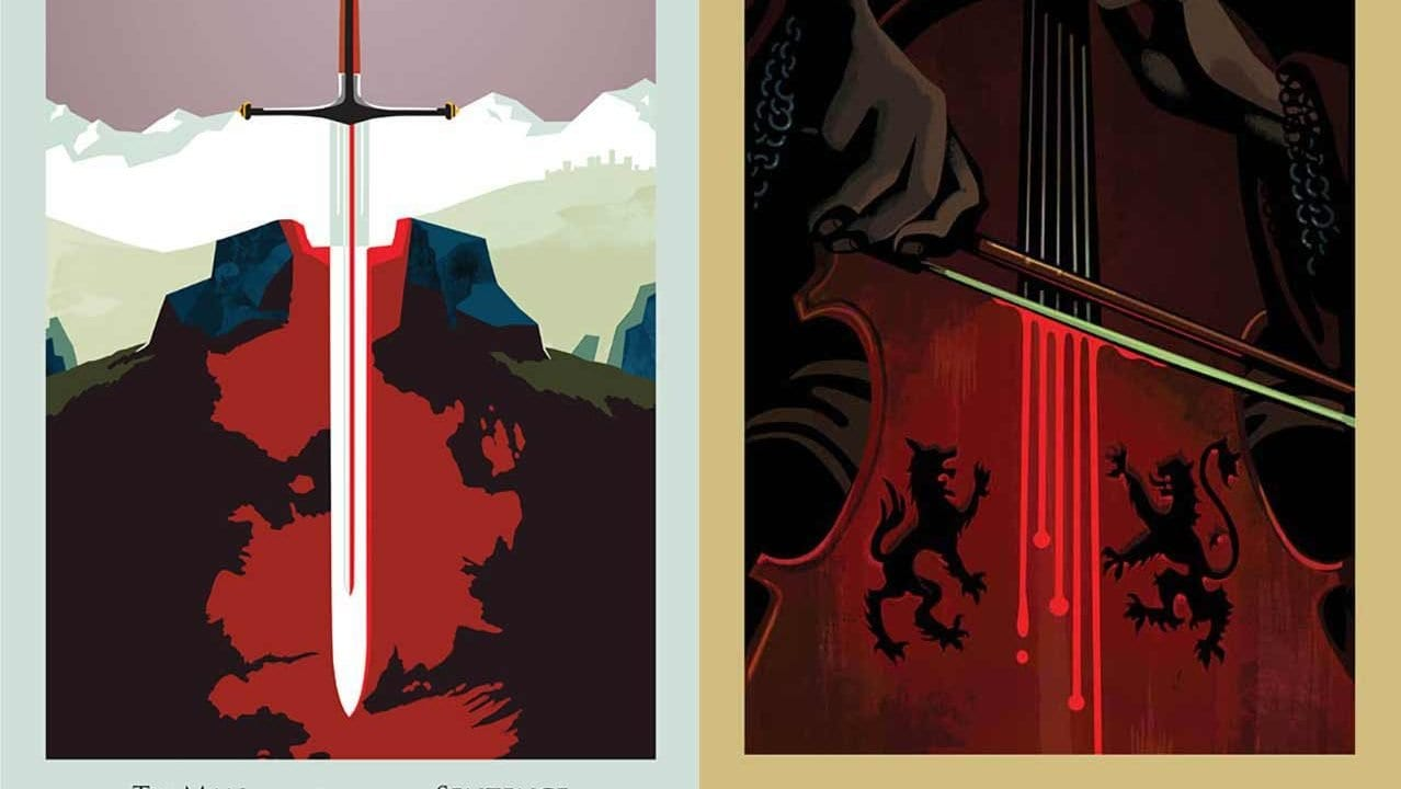 """Game of Thrones""-Poster von Robert Ball"
