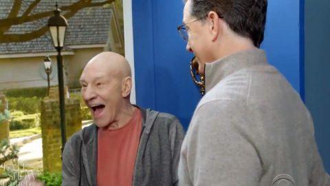 Picard verletzt die oberste Direktive