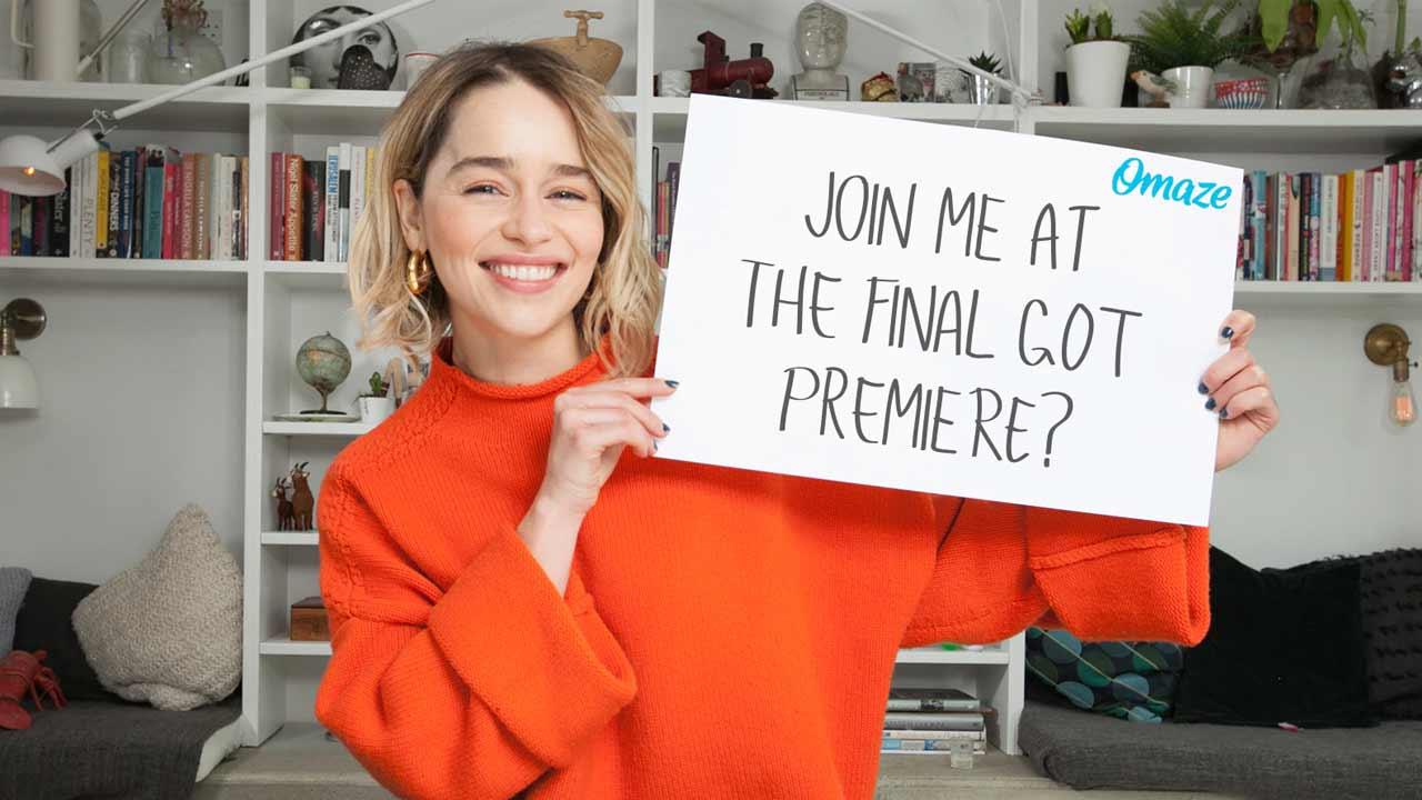 "Emilia Clarke plaudert über den ""Game of Thrones""-Cast"