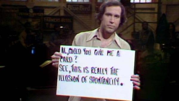 """So werden die Cue Cards für """"Saturday Night Live"""" erstellt"""