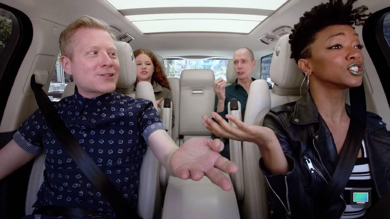 Carpool Karaoke mit Stars aus Star Trek: Discovery