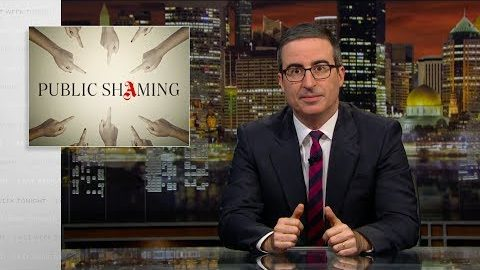 Last Week Tonight with John Oliver: Public Shaming