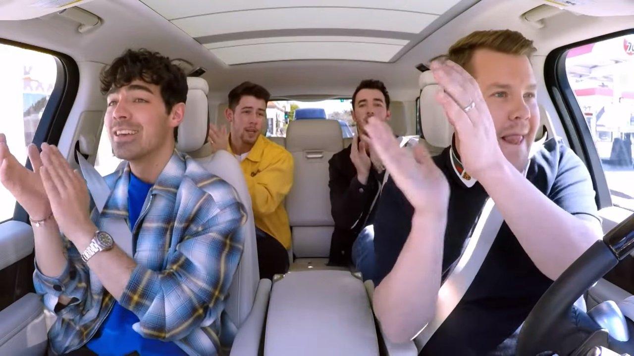 Carpool Karaoke mit den Jonas Brothers