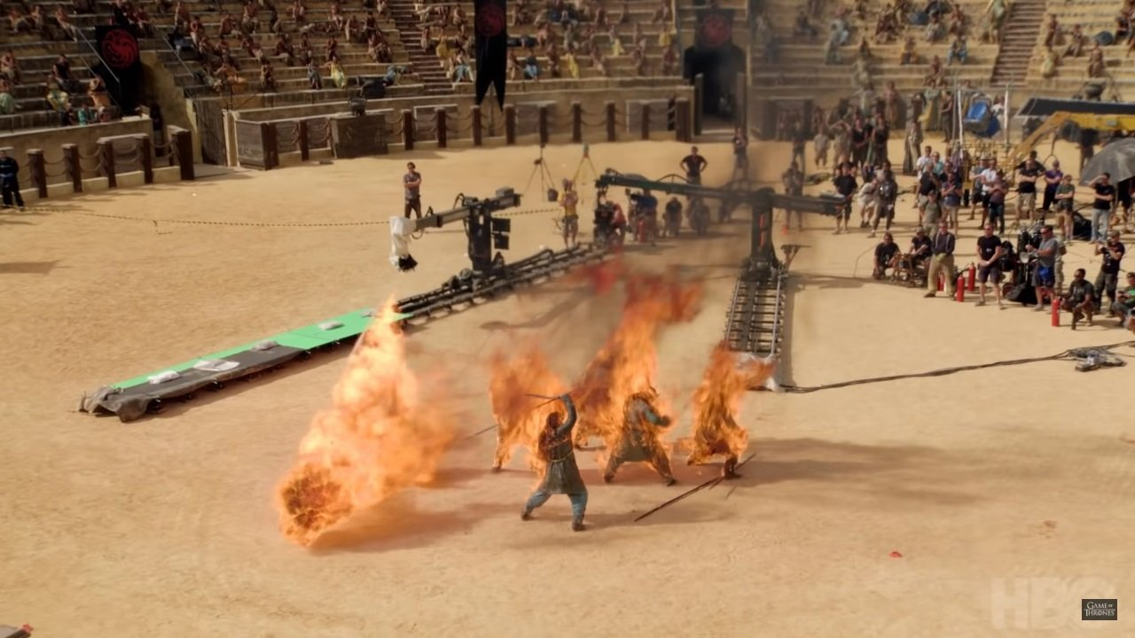 Inside Game of Thrones: A Story in Stunts