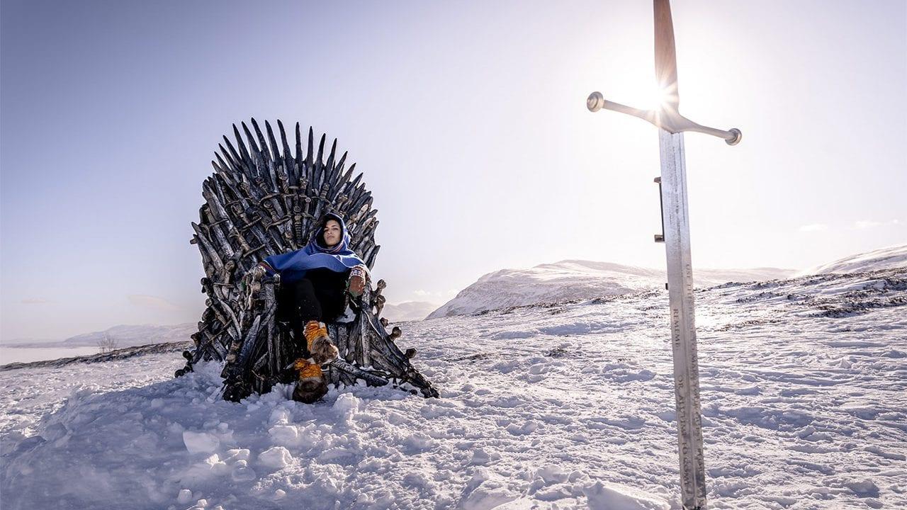 HBO hat 6 Eiserne Throne auf der Welt verteilt versteckt