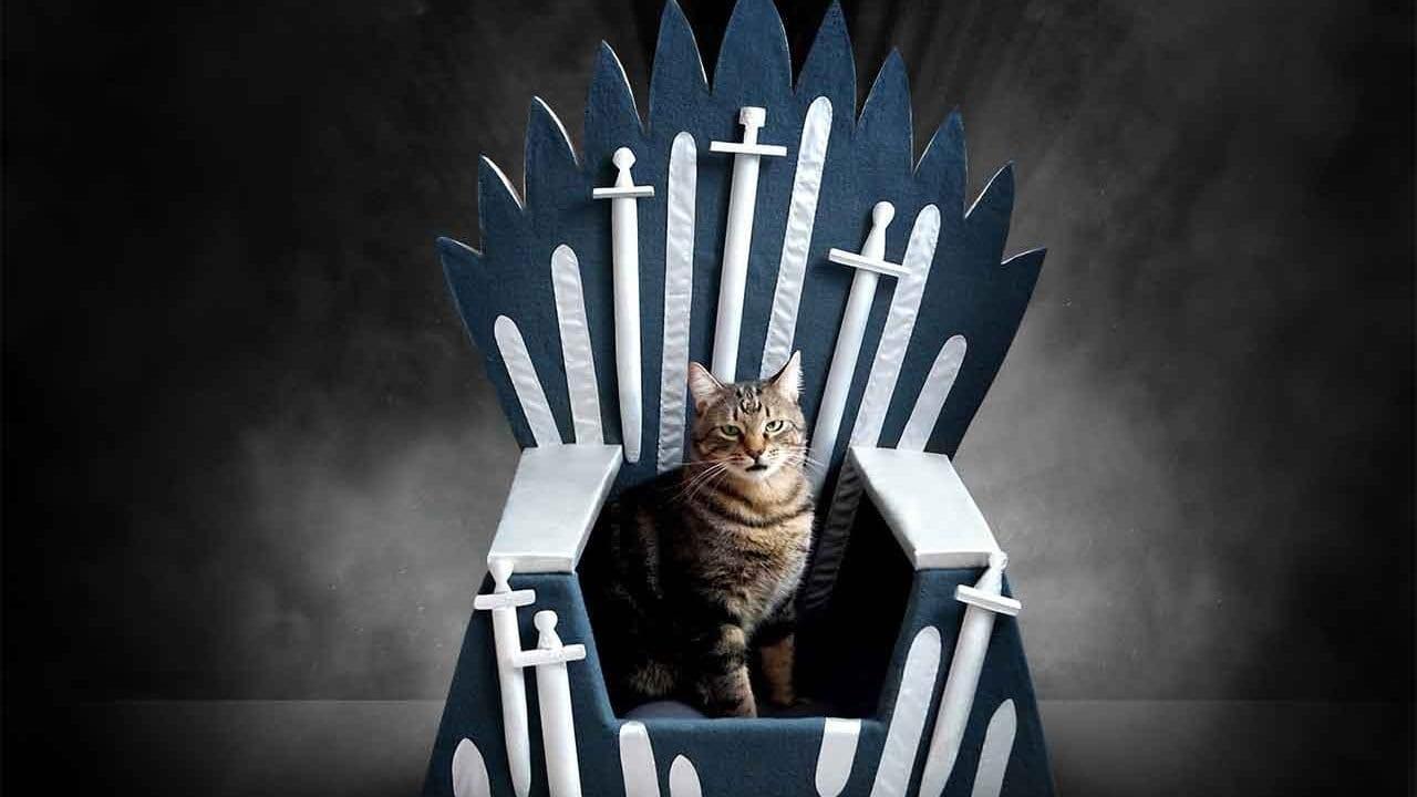 Eiserner Thron für Hund und Katze