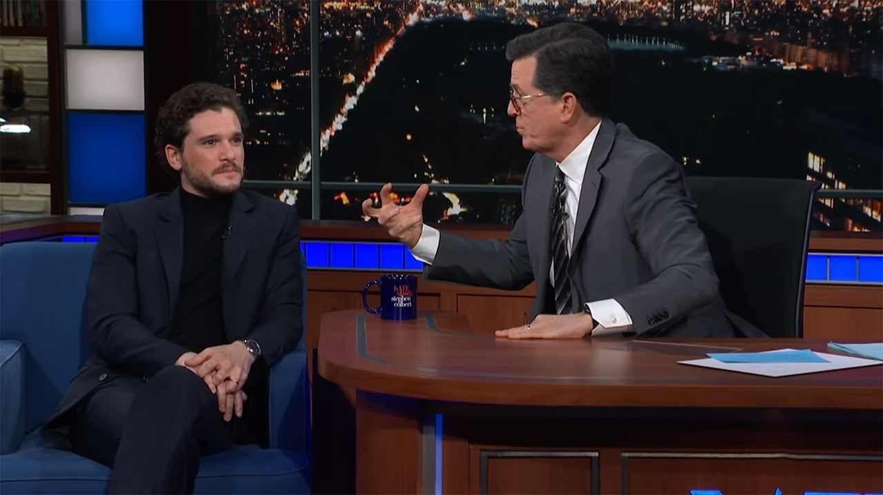 """Stephen Colbert versucht, das Ende von """"Game of Thrones"""" zu erraten"""