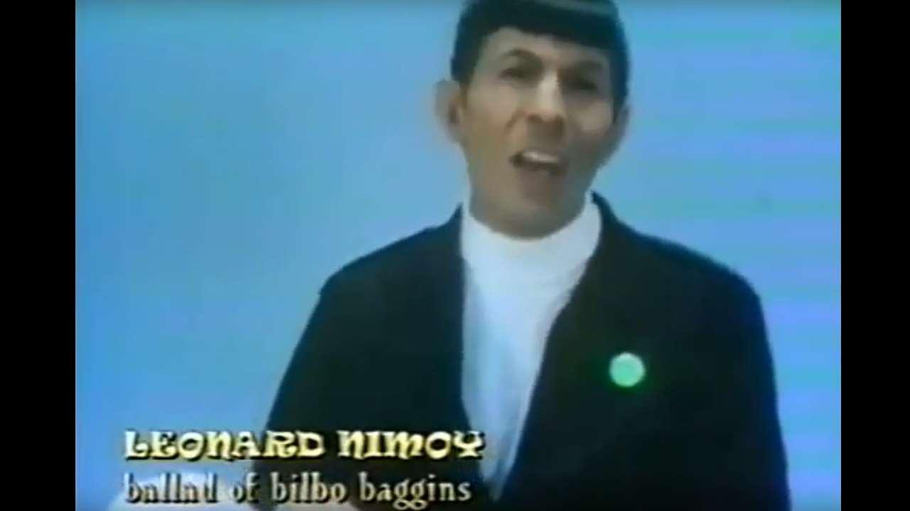 """Leonard Nimoy singt """"Der Herr der Ringe"""""""