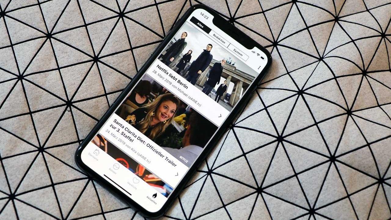 sAWE.tv-Beiträge ab jetzt in der WhatsOnFlix?-App