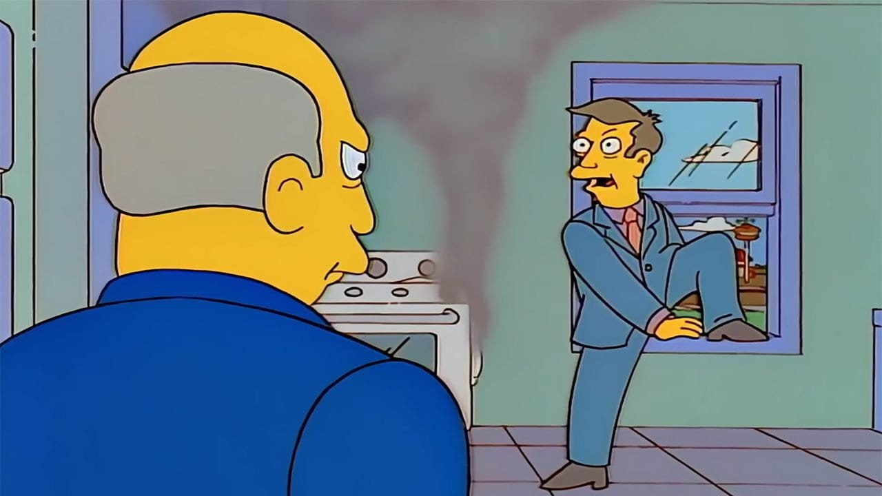 """Die Steamed Ham-Szene der """"Simpsons"""" als """"Basket Case"""" von Green Day"""