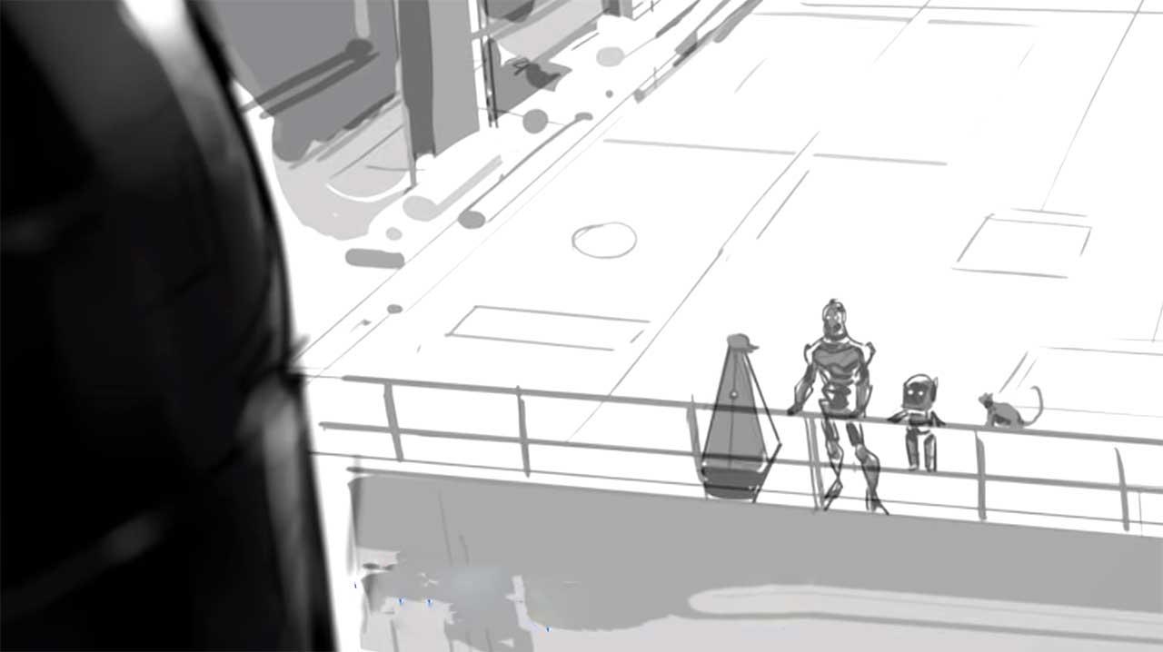 richtig viel making  material zu love death robots   animation seriesly