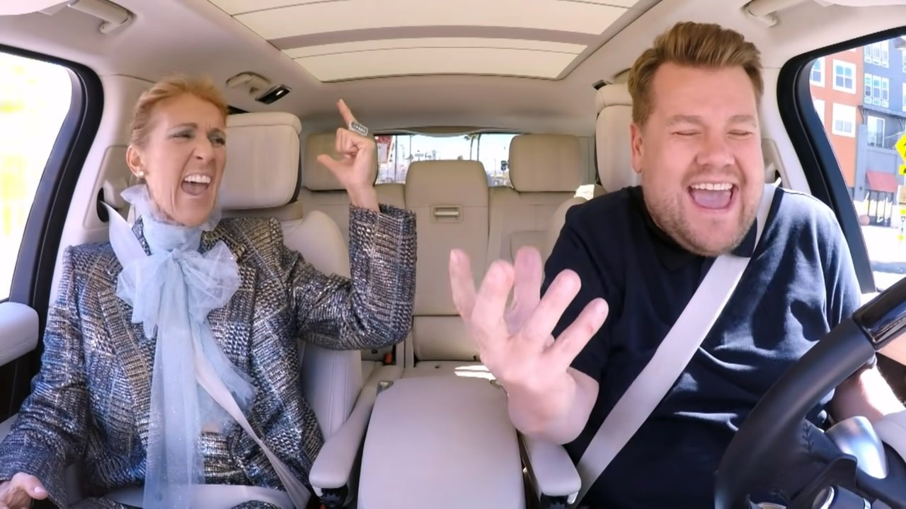 Carpool Karaoke mit Céline Dion