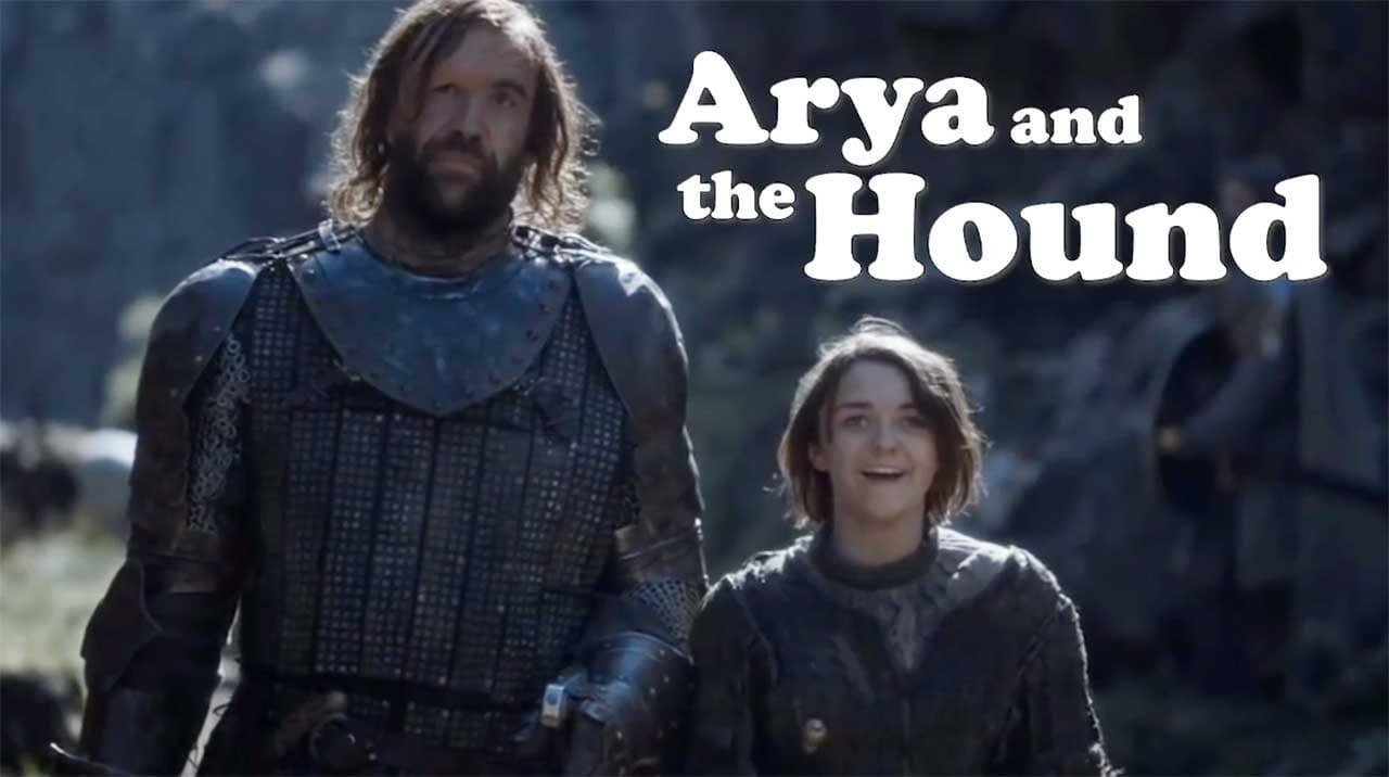 """Arya and the Hound"", die Sitcom"