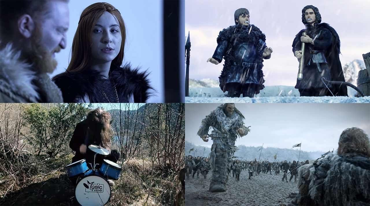"Game of Thrones: Porno-Parodie, Heavy-Metal-Theme, ""Robot Chicken""-Sketch und 31 Fakten"