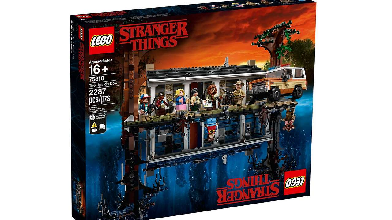 Das offizielle Stranger Things Lego-Set