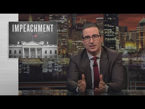 Last Week Tonight with John Oliver: Impeachment