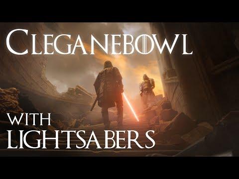 """""""Game of Thrones""""-Kampf mit Lichtschwertern"""